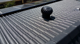 Wirly bird roof vents